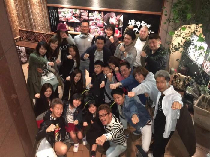 RAOU JAPANキックボクシングジム!試合後の打ち上げ!!