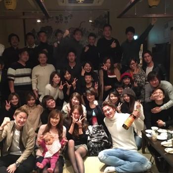 RAOU JAPANキックボクシングジム2016年大忘年会in陽なた家!