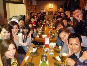 RAOU JAPANキックボクシングジム!2017年新年会!