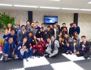 RAOU JAPANキックボクシングジム博多店!1/8レセプションParty!