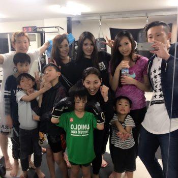 女性会員さんが急増中のRAOU JAPANキックボクシングジム♡
