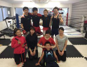女子会員さんが増え続けるRAOU JAPANキックボクシングジム薬院店、博多店♡