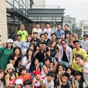 RAOU JAPAN4周年記念BBQ!!!