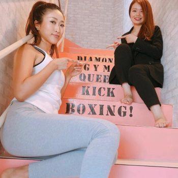 6月に入りました♡お陰様で女性専用キックボクシングジム!Diamond Gymも盛り上がってます♡