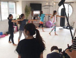 女性専用キックボクシングジム♡夏限定!グループレッスンでお友達と楽しくワイワイ全身運動!