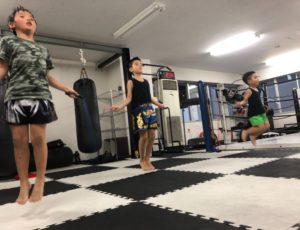 キックボクシングで学力アップ!!